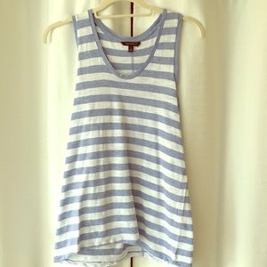 Banana Republic racerback striped tank